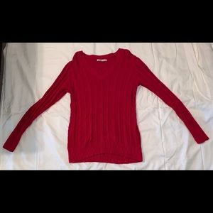 Old Navy Used Good Condition Red Sweater Large